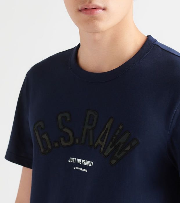 G-Star  Graphic 12 Tee  Blue - D156183366067-BLU | Jimmy Jazz