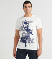 G-Star  Bird Pocket Tee  White - D163842653111-MLK | Jimmy Jazz