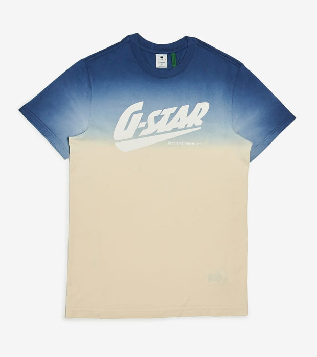 G-Star  Dip Dye Tee  Blue - D1642426531305-BLU | Jimmy Jazz