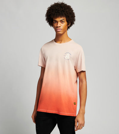 G-Star  Logo Dip Dye Short Sleeve Tee  Pink - D17149336B670-ORG | Jimmy Jazz