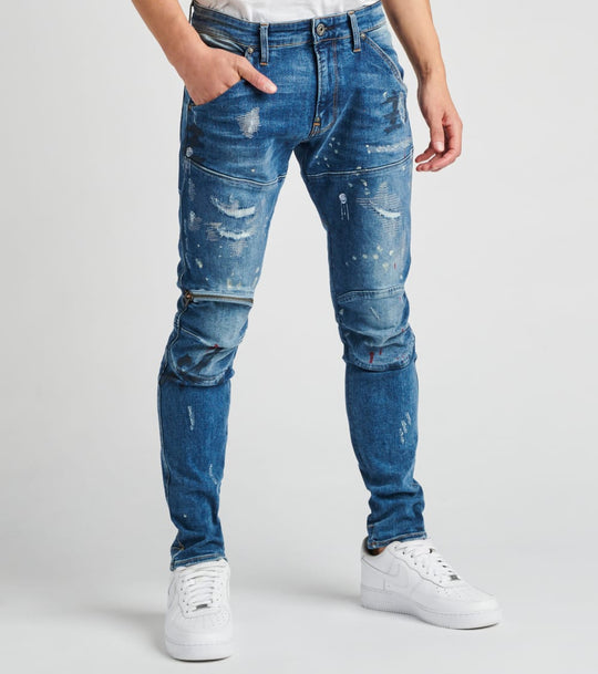 G-Star 3D Zip Knee Skinny Sports Stretch Jeans