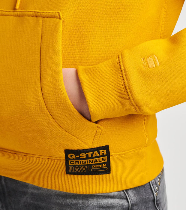 G-Star  Premium Core Hoodie  Gold - D17753C2355618-DGD | Jimmy Jazz