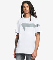 G-Star  1 Reflective Graphic Short Sleeve Tee  White - D19219336110-WHT | Jimmy Jazz