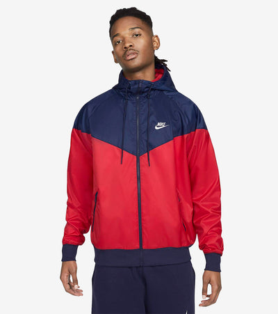 Nike  NSW Colorblock Windrunner  Red - DA0001-657 | Jimmy Jazz