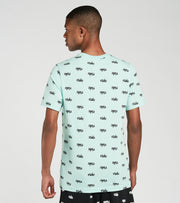 Nike  NSW Printed Club Short Sleeve Tee  Green - DA0514-382 | Jimmy Jazz