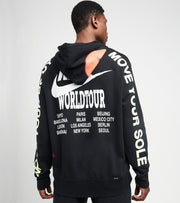 Nike  NSW World Tour Pullover Hoodie  Black - DA0931-010 | Jimmy Jazz