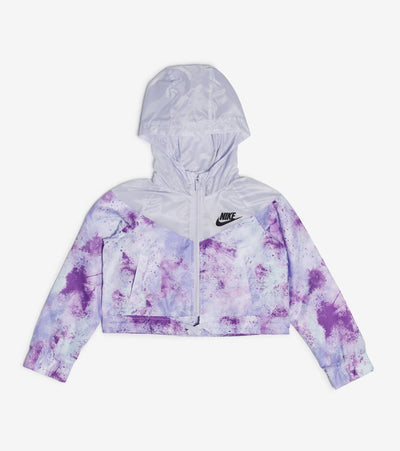 Nike  Girls NSW All Over Print Jacket  Purple - DA1398-572 | Jimmy Jazz