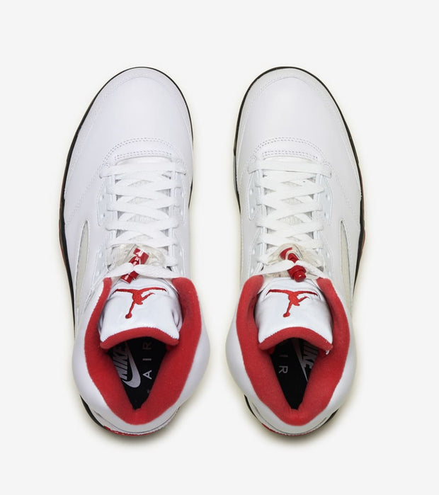 "Jordan  Air Jordan 5 Retro ""Fire Red""  White - DA1911-102 