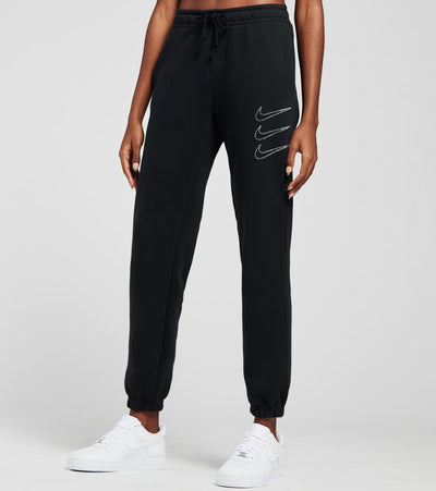 Nike  NSW Rhinestone Fleece Sweatpants  Black - DA2124-010 | Jimmy Jazz