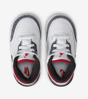 Jordan  Retro 3 SE Fire Red Denim  White - DB0442-100 | Jimmy Jazz