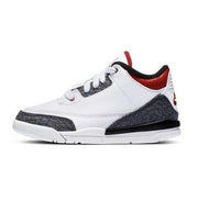 Jordan  Retro 3 SE Fire Red Denim  White - DB0443-100 | Jimmy Jazz