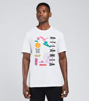 Jordan  Atlanta City Short Sleeve Tee  White - DB9368-100 | Jimmy Jazz