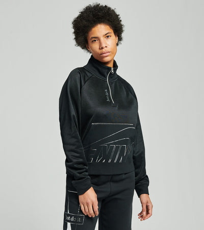 Nike  NSW Icon Clash Fleece Jacket  Black - DC0656-010 | Jimmy Jazz