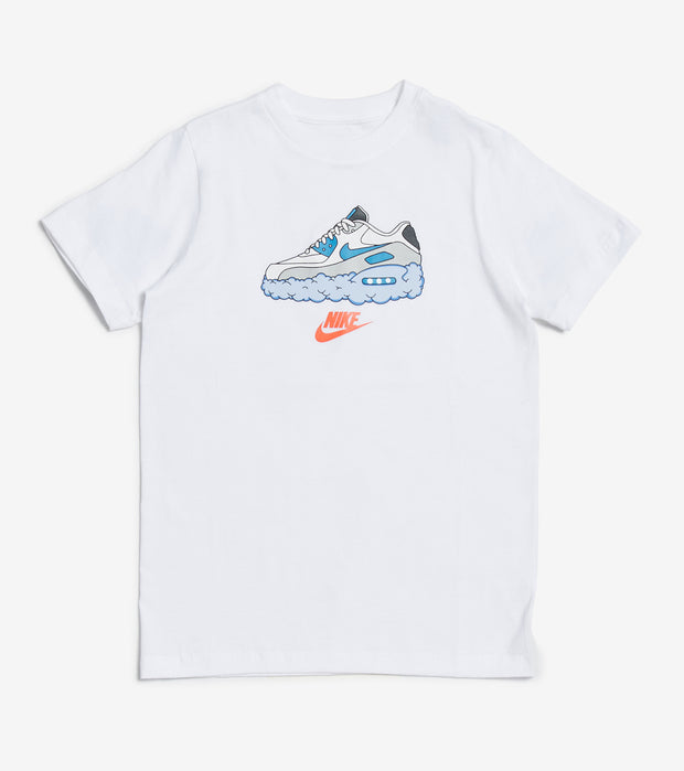 Nike  Boys NSW Air Max Cloud Tee  White - DC7509-100 | Jimmy Jazz