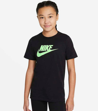 Nike  Boys NSW Futura Short Sleeve Tee  Black - DC7520-010 | Jimmy Jazz
