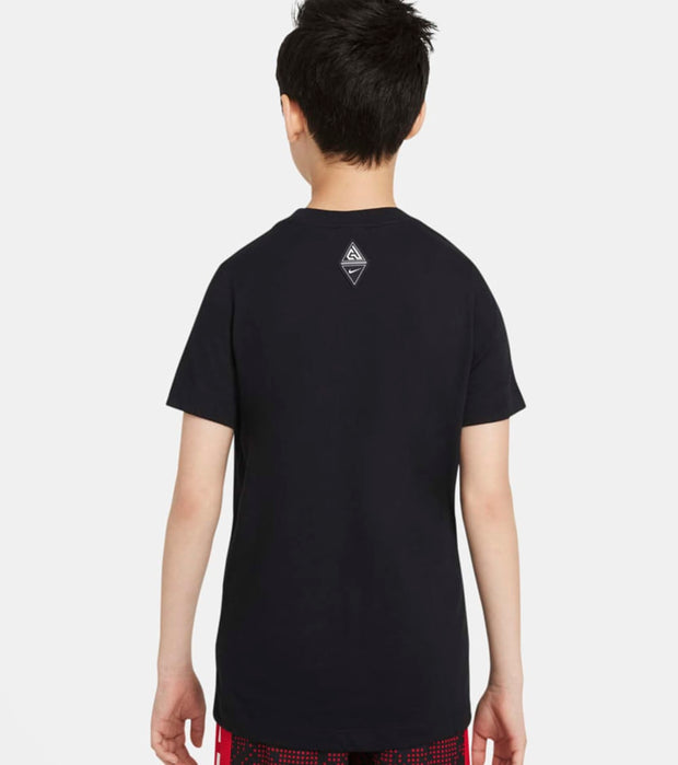 Nike  Boys Giannis Freak DRI FIT Tee  Black - DC7680-010 | Jimmy Jazz