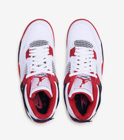 Jordan  Air Jordan 4 Retro Fire Red  White - DC7770-160 | Jimmy Jazz
