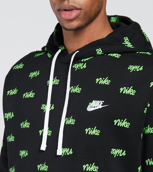 Nike  NSW Club Fleece Basketball Hoodie  Black - DC8090-010 | Jimmy Jazz