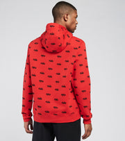 Nike  NSW Club Fleece Basketball Hoodie  Red - DC8090-657 | Jimmy Jazz