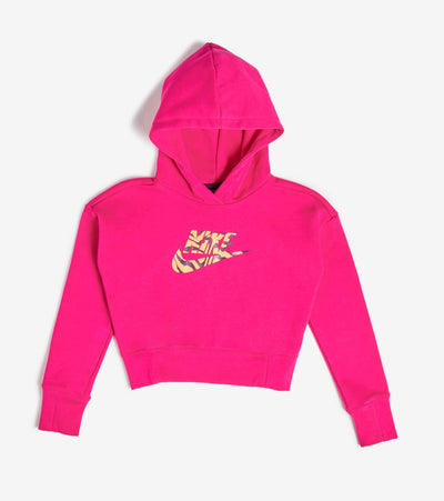Nike  Girls NSW Cropped Hoodie  Pink - DC9763-615 | Jimmy Jazz