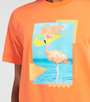 Nike  NSW Beach Flamingo Short Sleeve Tee  Orange - DD1282-842 | Jimmy Jazz