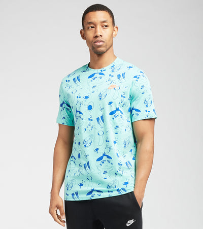 Nike  NSW Food All Over Print Short Sleeve Tee  Multi - DD1324-307 | Jimmy Jazz