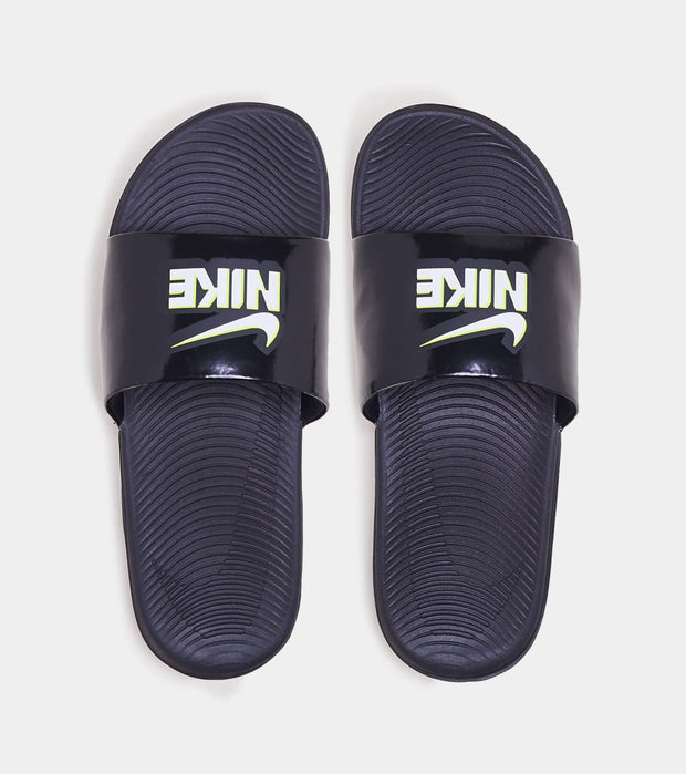 Nike  Kawa Print Slides  Black - DD3242-001 | Jimmy Jazz