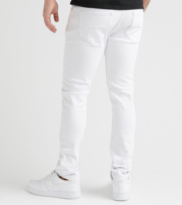 Decibel  Stretch Twill Pant  White - DECWB161-WHT | Jimmy Jazz