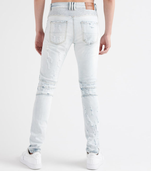 Decibel  Shredded Jeans  Blue - DECWB183-WHT | Jimmy Jazz