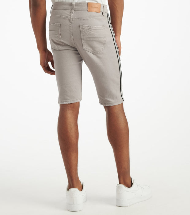 Decibel  Side Stripe Short With Taping  Grey - DECWB231-GRY | Jimmy Jazz