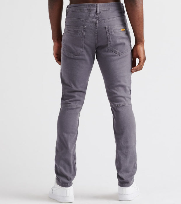 Decibel  RNR Zipper Trim Pant - L34  Grey - DF8357L34-GRY | Jimmy Jazz