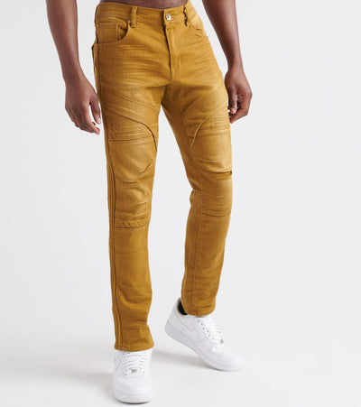 Decibel  Biker Cut Embossed Pants - L32  Beige - DF8366L32-TIM | Jimmy Jazz