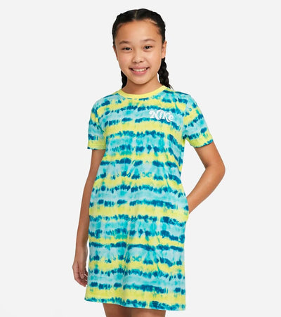 Nike  Girls NSW Tie Dye T Shirt Dress  Multi - DJ5329-712 | Aractidf