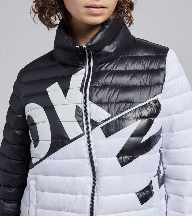 DKNY  Logo Packable Jacket  Black - DL0MP535-BKW | Jimmy Jazz