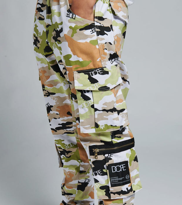 Dope  Camo Sateen Pants  Camo - DPMSP2007-GUA | Jimmy Jazz