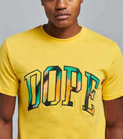 Dope  Team K Tee  Yellow - DPMSP2067-YEL | Jimmy Jazz