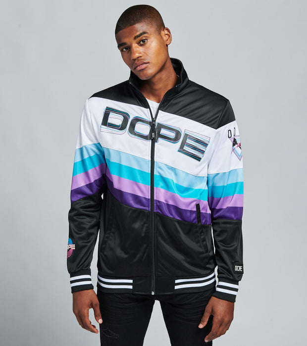 Dope  Dope Luck Track Jacket  Black - DPMSP20J10-BLK | Jimmy Jazz
