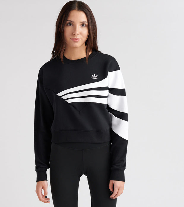 Adidas  Bossy 90's Crew Sweatshirt  Black - DU9601-001 | Jimmy Jazz