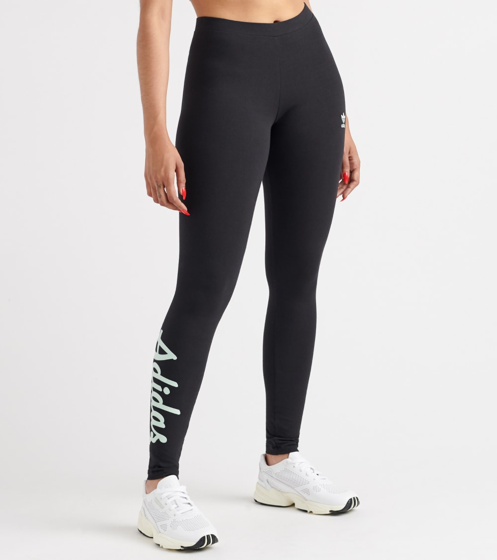 Adidas  Logo Tights  Black - DU9928-001 | Jimmy Jazz