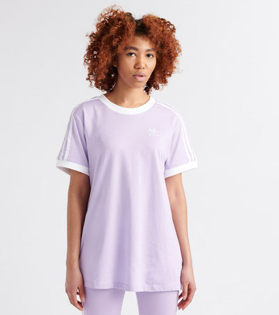 Adidas  3-Stripes Tee  Purple - DV2589-535 | Jimmy Jazz