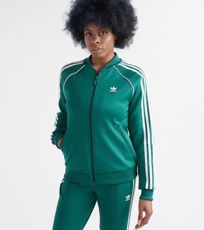 Adidas  SST Track Jacket  Green - DV2642-305 | Jimmy Jazz