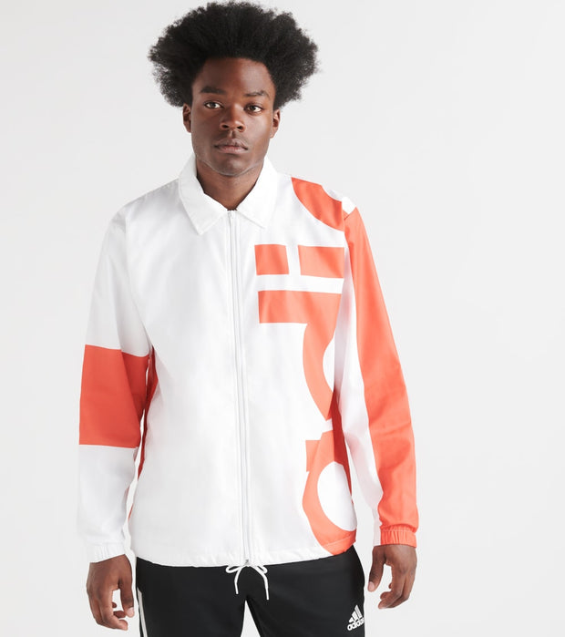Adidas  Big Adi Windbreaker  White - DV3161-100 | Jimmy Jazz
