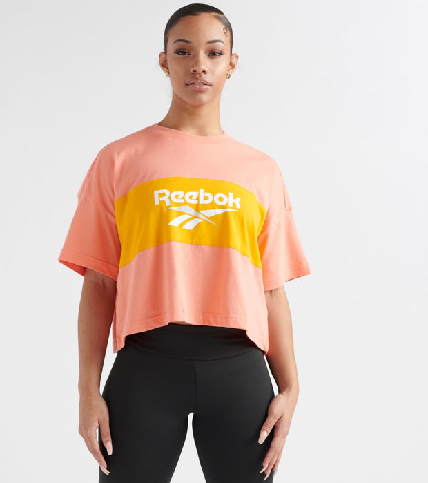 Reebok  Classics Crop Tee  Pink - DX3812-622 | Jimmy Jazz