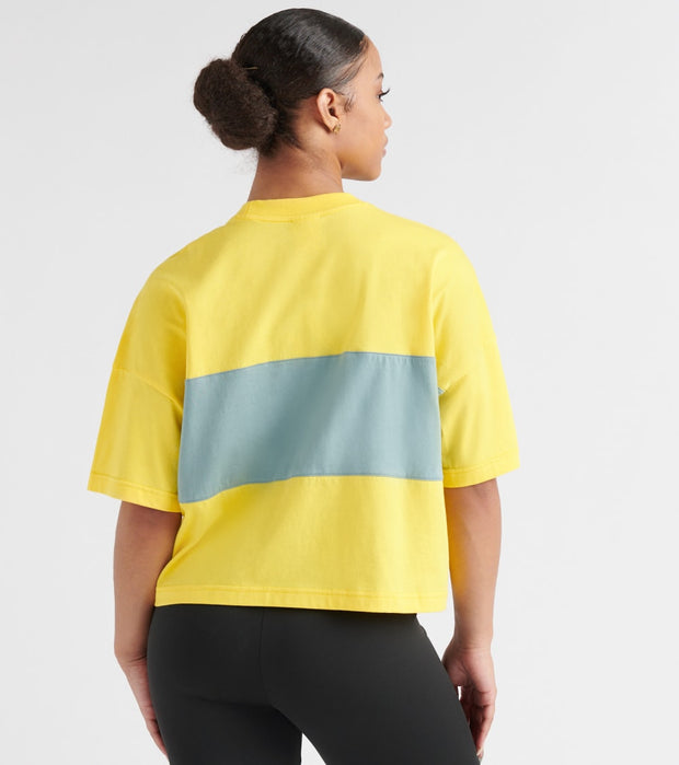 Reebok  Classics Crop Tee  Yellow - DX3814-725 | Jimmy Jazz