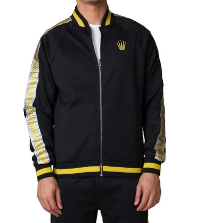 Eternity  Kings Track Jacket  Black - E6130015-BLK | Jimmy Jazz