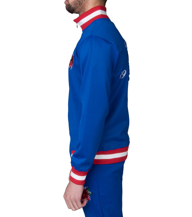 Eternity  Wild Cat Track Jacket  Blue - E6130083-BLU | Jimmy Jazz