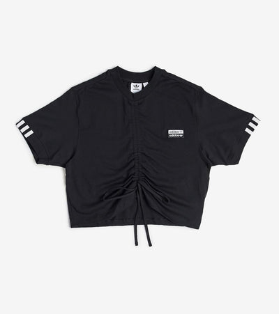 Adidas  Vocal Ruched Tee  Black - ED5819-001 | Jimmy Jazz