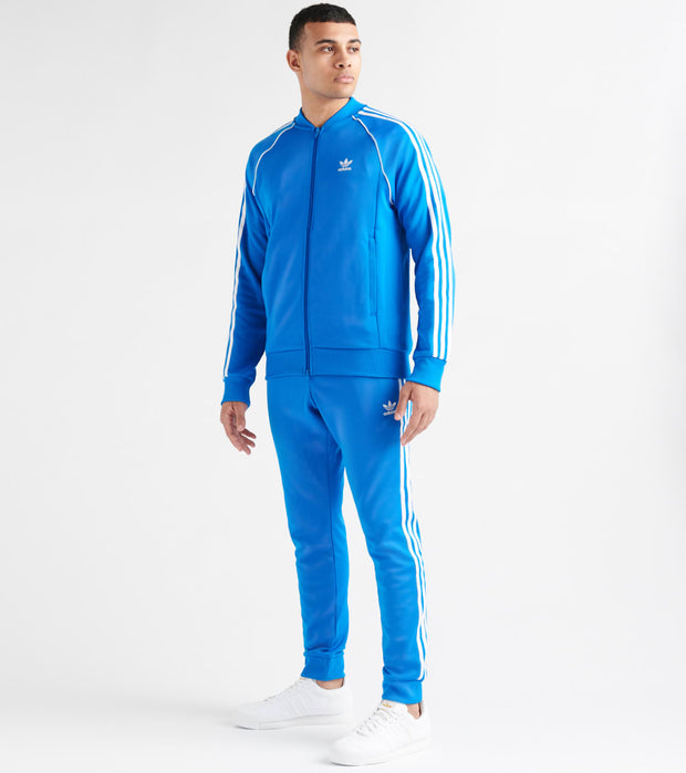 Adidas  Side Stripe Track Jacket  Blue - ED6053-430 | Jimmy Jazz