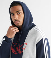 Adidas  Off Court Trefoil Pullover Hoodie  Grey - ED6249-035 | Jimmy Jazz