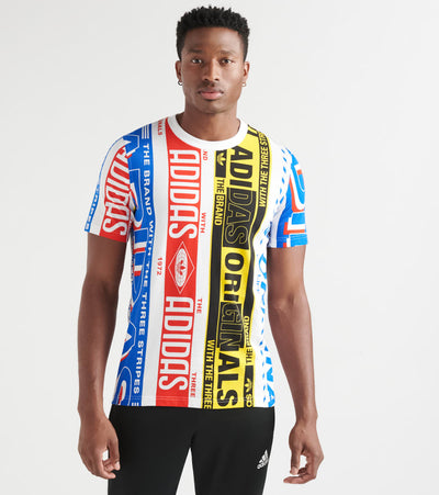Adidas  Multiscarf Tee        Multi - ED6992-997 | Jimmy Jazz